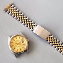 Load image into Gallery viewer, 1981 ROLEX DATEJUST REF.16013 YG FLUTED BEZEL / STEEL TWO TONE WATCH