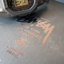 Load image into Gallery viewer, 2008 CASIO G-SHOCK DW-5000ST-1JR STUSSY 25TH ANNIVERSARY EDITION MINT