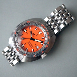 2010 DOXA SUB 1000T PROFESSIONAL RE-EDITION ORANGE DIVER WATCH