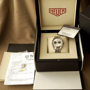 2012 TAG HEUER CARRERA CV2119.BA0722 JACK HEUER 80TH B-DAY LIMITED EDITION
