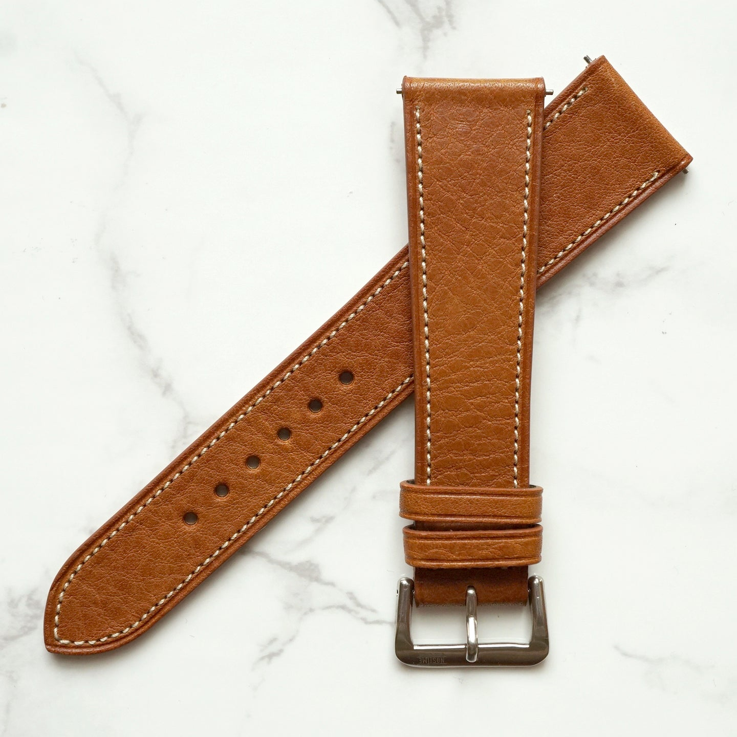 TAN BOX CALF STANDARD STRAP