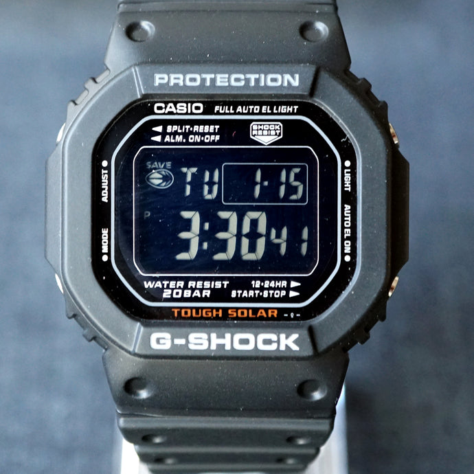 2009 VINTAGE CASIO G-SHOCK G-5600RB-1JF MINT