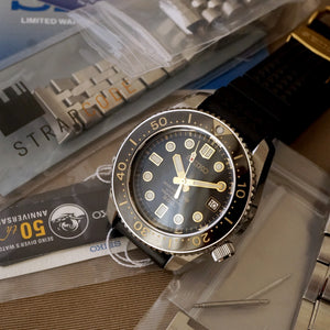2015 SEIKO MARINEMASTER 300M SBDX012 50TH ANNIVERSARY LIMITED EDITION