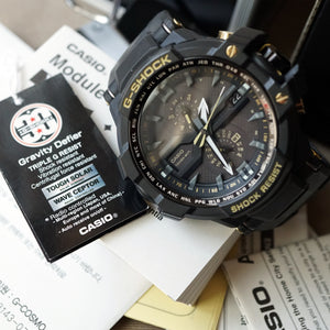 2012 CASIO G-SHOCK SKY COCKPIT GRAVITY DEFIER 30TH ANNIVERSARY NOS