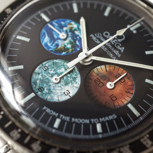 2004 OMEGA SPEEDMASTER PROFESSIONAL 3577.50 FROM THE MOON TO MARS