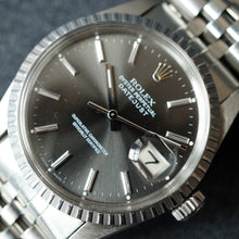 Load image into Gallery viewer, 1979 ROLEX DATEJUST REF.16030 ENGINE TURNED STEEL WATCH