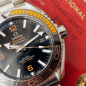 2016 OMEGA SEAMASTER PLANET OCEAN 600M CO‑AXIAL MASTER CHRONOMETER 43.5MM Liquidmetal™