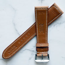 Load image into Gallery viewer, NATURAL SADDLE CUSTOM MADE STRAP