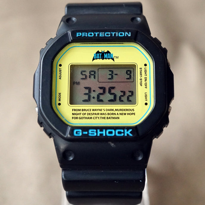 2009 CASIO G-SHOCK DW-5600VT DC COMICS EDITION