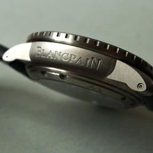 Load image into Gallery viewer, BLANCPAIN FIFTY FATHOMS AUTOMATIQUE TITANIUM 45MM BLUE 5015 12B40 O52A
