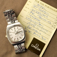 Load image into Gallery viewer, 1979 OMEGA SEAMASTER 166.0211.1 TV AUTOMATIC COMPLETE SERVICED NOS