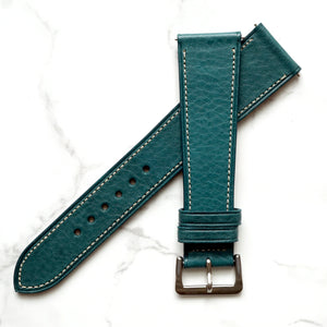 EMERALD BLUE BOX CALF STANDARD STRAP