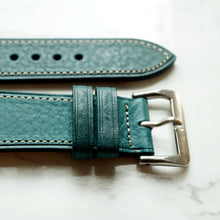 Load image into Gallery viewer, EMERALD BLUE BOX CALF STANDARD STRAP