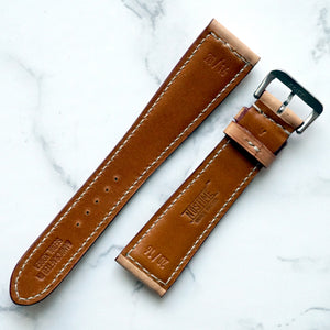 NATURAL SADDLE CUSTOM MADE STRAP