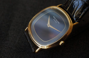 1978 PATEK PHILIPPE GOLDEN ELLIPSE REF.3862 TO-TONE DIAL RARE