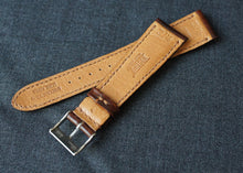 Load image into Gallery viewer, ANTIQUE GLOSSY BROWN CUSTOM MADE STRAP
