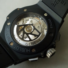 Load image into Gallery viewer, 2011 HUBLOT 311.CI.1170.GR BIG BANG AERO BANG BLACK MAGIC CERAMIC SKELETON 2018 SERVICED