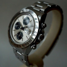 "Load image into Gallery viewer, 1995 TUDOR OYSTERDATE CHRONO TIME ""BIG BLOCK"" PANDA REF.79180 WATCH"