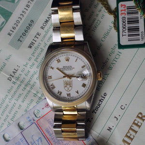1996 ROLEX DATEJUST REF.16203  NICK PRICE EDITION