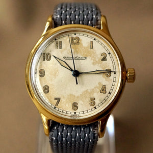 1940s Jaeger LeCoultre MILITARY STYLE MECHANICAL WATCH REF.313578 CAL.P450/4C