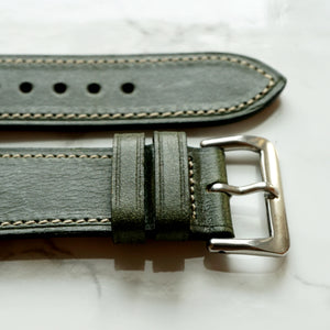 FOREST GREEN CHROMEXCEL STANDARD STRAP