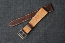 Load image into Gallery viewer, CHOCOLATE BROWN BARENIA SMOOTH CALF CUSTOM MADE STRAP