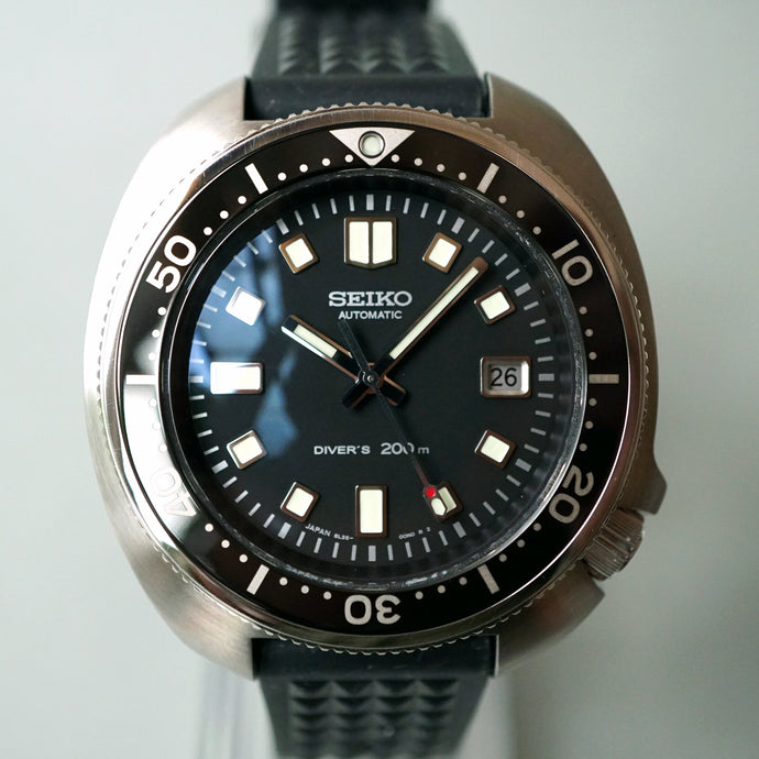 2019 SEIKO ICONIC 6105 HOMAGE DIVERS 200M SBDX031 LIMITED EDITION CAPT.WILLARD