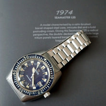 Load image into Gallery viewer, 1970 OMEGA SEAMASTER 120 DEEP BLUE 166.073 DIVER WATCH