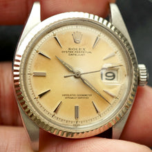 Load image into Gallery viewer, 1962 ROLEX DATEJUST REF.1601 EARLY STYLED DIAL AND HANDS