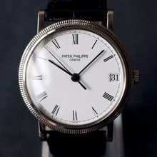 Load image into Gallery viewer, 1995 PATEK PHILIPPE CALATRAVA WG REF.3802 AUTOMATIC DATE WATCH