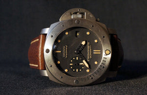 2014 PANERAI LUMINOR SUBMERSIBLE PAM 569 1950 LEFT-HANDED