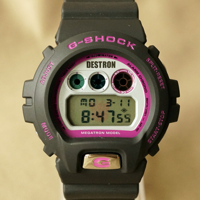 2007 CASIO G-SHOCK DW-6900FS TRANS FORMERS EDTION