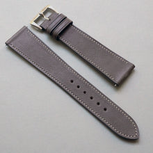 Load image into Gallery viewer, DARK TAUPE BARENIA SMOOTH CALF STANDARD STRAP