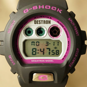 "2007 CASIO G-SHOCK DW-6900FS TRANS FORMERS EDTION ""DESTRON"" MINT"