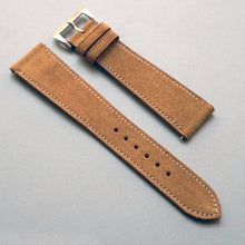 Load image into Gallery viewer, SAND TAN SUEDE CALF 3M Scotchgard™ STANDARD STRAP