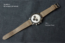 Load image into Gallery viewer, TAUPE GRAY TEXTURED GOAT CUSTOM MADE STRAP