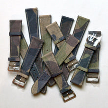 Load image into Gallery viewer, MILITARE CAMO CALF STANDARD STRAP