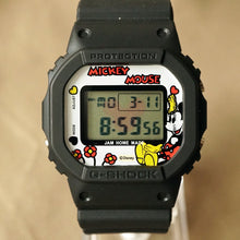 Load image into Gallery viewer, 2010 CASIO G-SHOCK DW-5600VT JAM HOME MADE X SHIPS JET BLUE MICKEY EDITION MINT