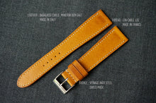 Load image into Gallery viewer, MUSTARD BOX CALF CUSTOM MADE STRAP