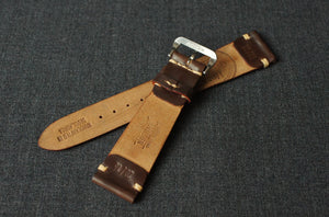 WHISKEY HORWEEN SHELL CORDOVAN CUSTOM MADE STRAP