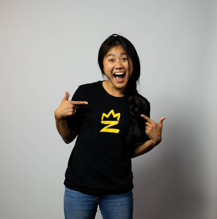 ZACH KING LOGO TEE