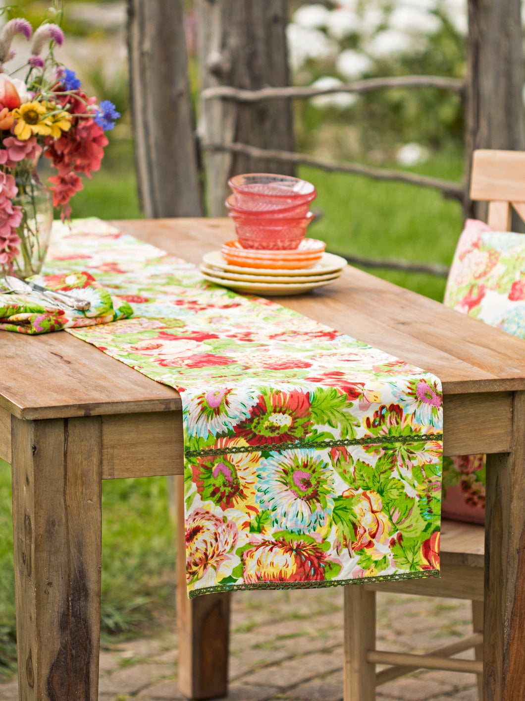 Spring Gathering Table Runner