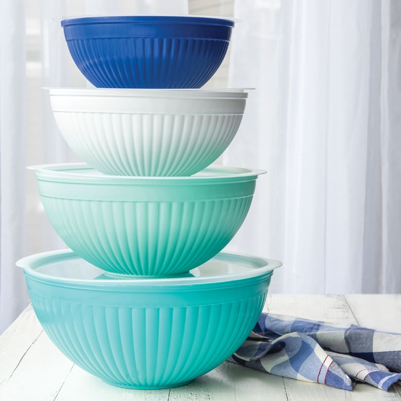 8 Piece Mixing Bowl Set, Nordic Ware