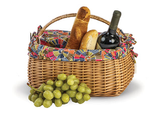 Napa Picnic Basket with removable liner