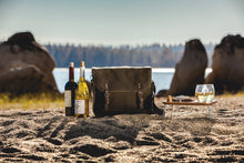 Load image into Gallery viewer, Picnic, Adventure Wine Tote khaki/brown
