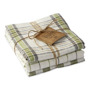 Dishtowel, Greenhouse Collection set of 3