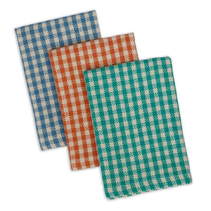 Dishcloth, Camp Checks set of 3
