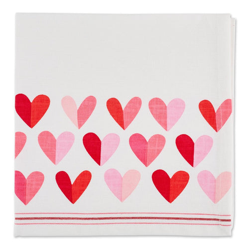 Napkin, Two Hearts Printed Napkin