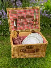 Load image into Gallery viewer, Wine & Cheese Picnic Basket upgrade