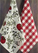 Italiano Dishtowel, set of 2